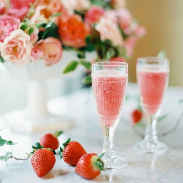 19 Champagne Cocktails to Serve at Your Bridal Shower