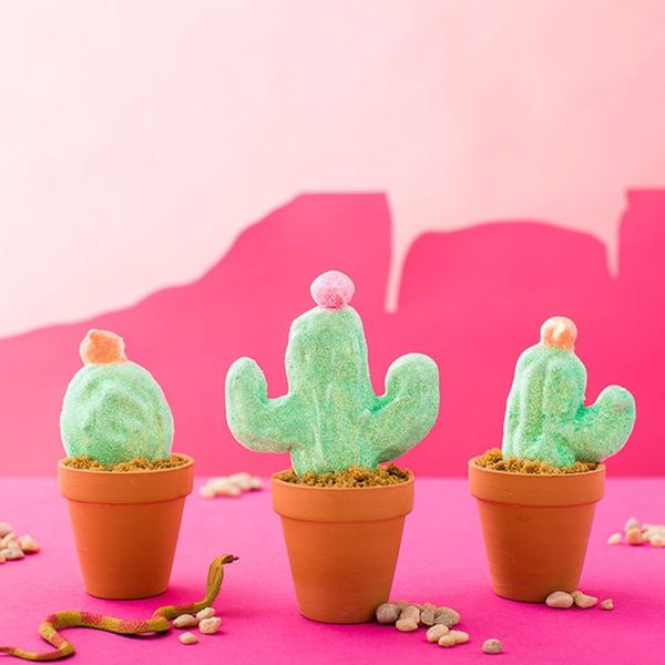 How to Make DIY Cactus Peeps for Easter