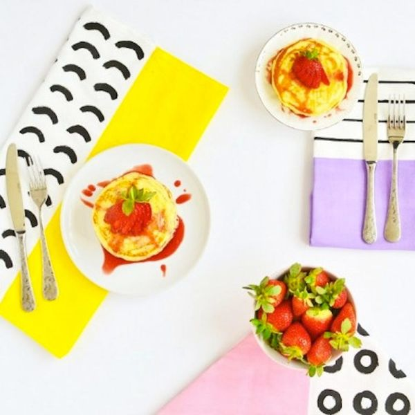 What to Make This Weekend: Peeps S'mores, Color Blocked Napkins + More
