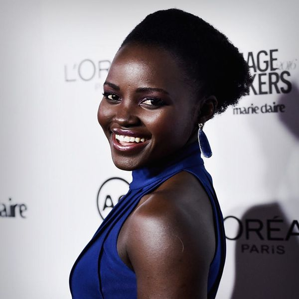 Lupita's Broadway Backstage Prep Includes This Classic DIY Hobby