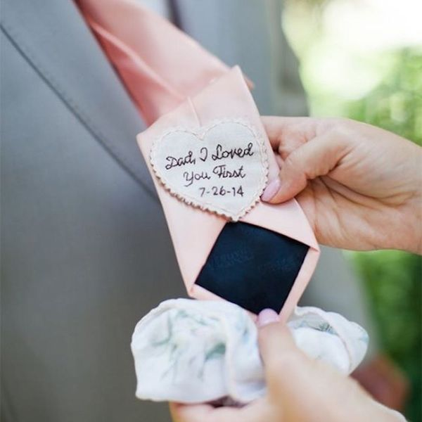 father of the bride tie