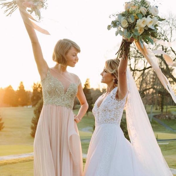 Taylor Swift Is Adorable AF As Maid of Honor in Her BFF's Wedding Video