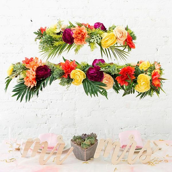 How to Make a Floral Chandelier for Your Spring or Summer Wedding