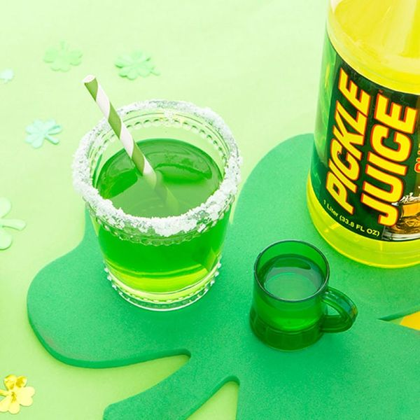 Make This St. Patrick's Day Pickle Surfer Cocktail Recipe