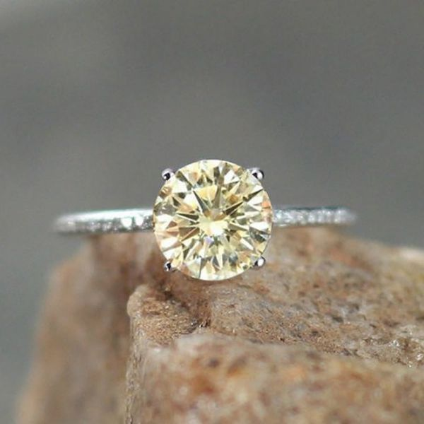 15 Unique Engagement Rings With Yellow Diamonds and Gemstones