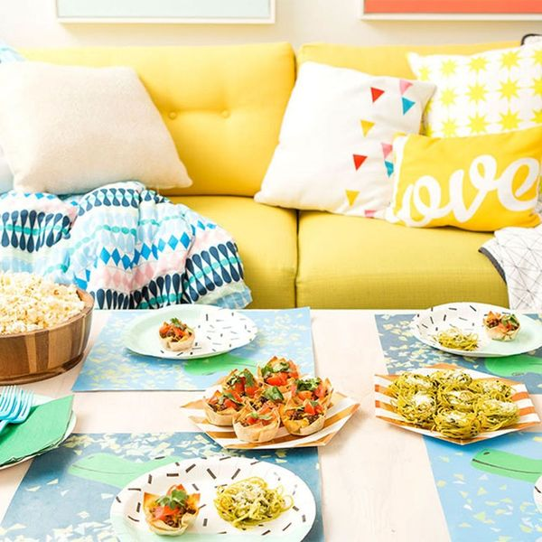 Take Family Movie Night to the Next Level With These Recipes + DIY