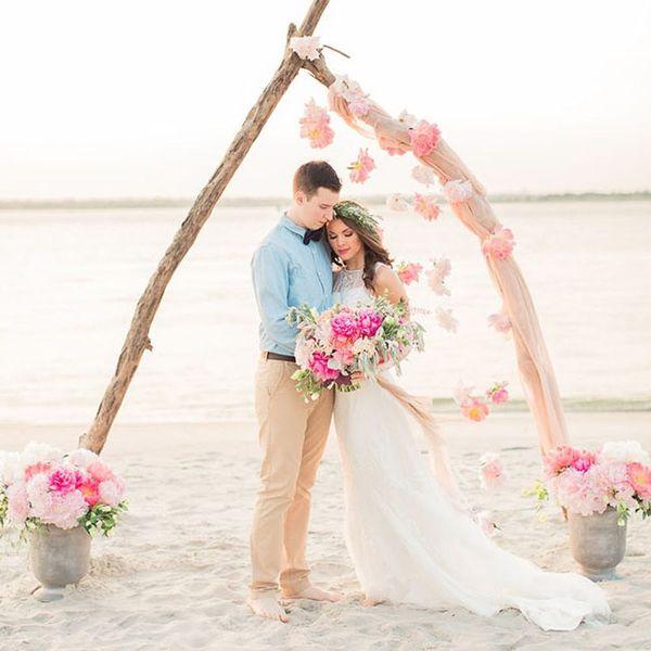 14 Gorgeous Beach Weddings to Give You MAJOR Wanderlust