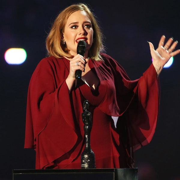Adele Just Gave a Shout Out to Kesha in Her Empowering Brit Awards Acceptance Speech
