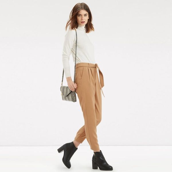 The Pants + Skirt Trend That Makes Office Dressing Way Easier