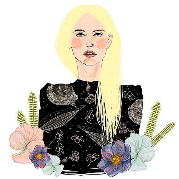 The Story Behind That Kesha Illustration All the Celebs Are Sharing