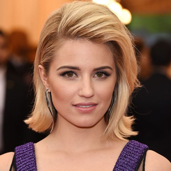 Dianna Agron Has FINALLY Flashed Her Engagement Ring, and It's Stunning