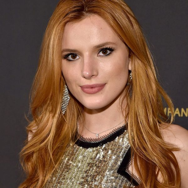 "Bella Thorne Just Ditched Her Famous Red Locks for ""Brownie"" Hair"