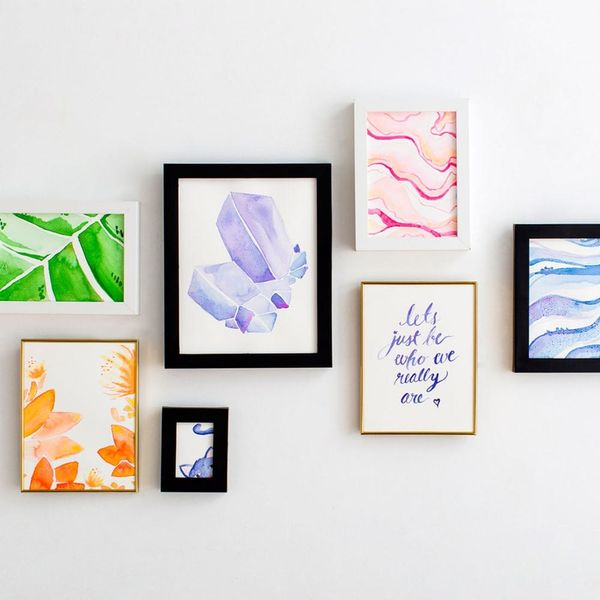 This Is the BEST Way to Put Together a Gallery Wall on a Budget