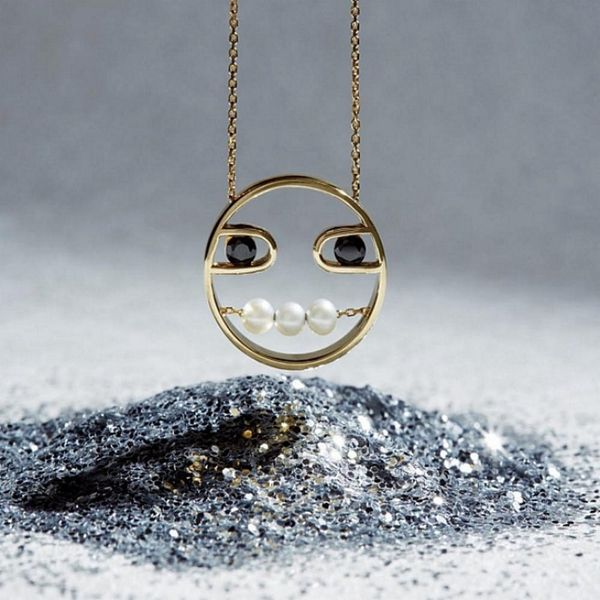 This High-End Emoji Jewelry Line Is Giving Us Heart Eyes