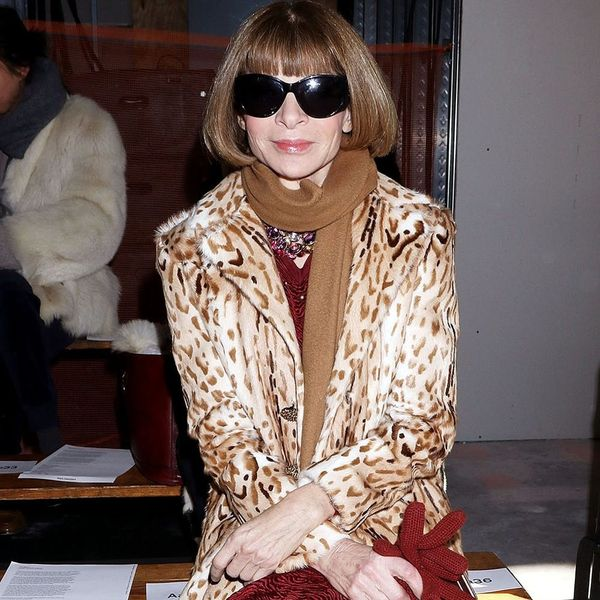 Anna Wintour Surprised Everyone by Wearing THIS Lazy Girl Style to Fashion Week