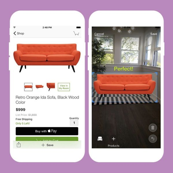 You Can Now *Virtually* Try Out Furniture Before You Buy