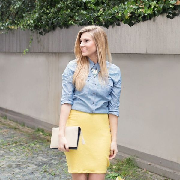 Sew Your Own Pencil Skirt in Less Than 30 Minutes