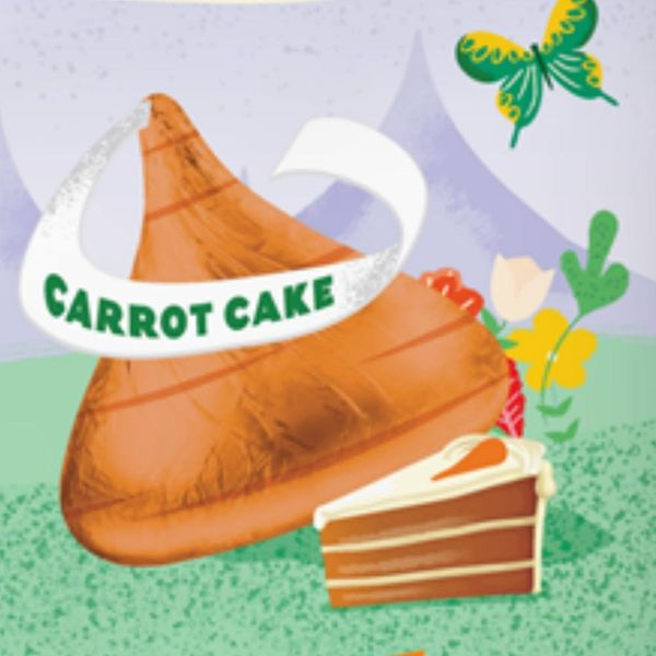 Easter Just Got Yummier With Hershey's New Carrot Cake Kisses
