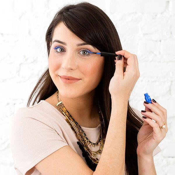 Beauty Mythbuster: Are Blue Eyelashes the Secret to Bigger, Brighter Eyes?