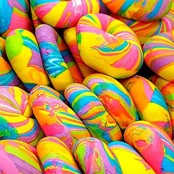 rainbow bagels rainbow recipes