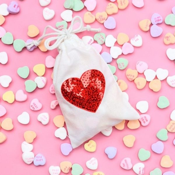 What to Make This Weekend: Anthro Coasters, Sequin Candy Bags + More
