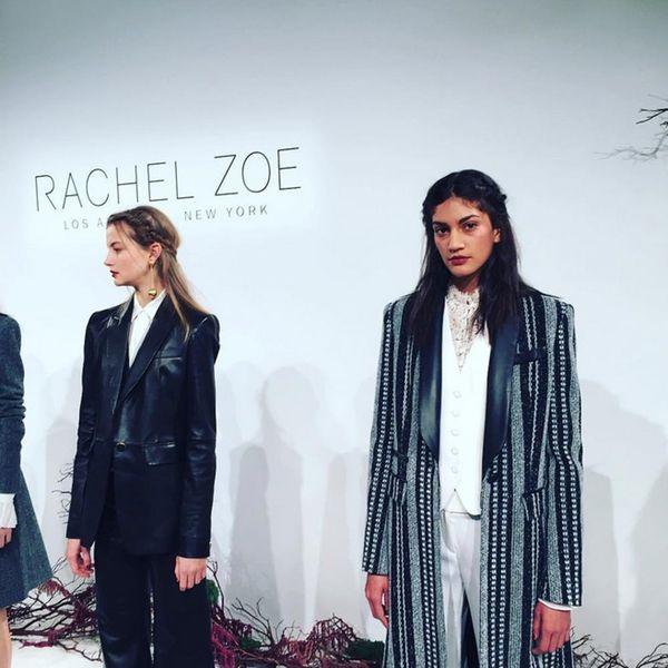 Runway Rip-Off: How to Get Rachel Zoe's '90s Glam Nails + Lips