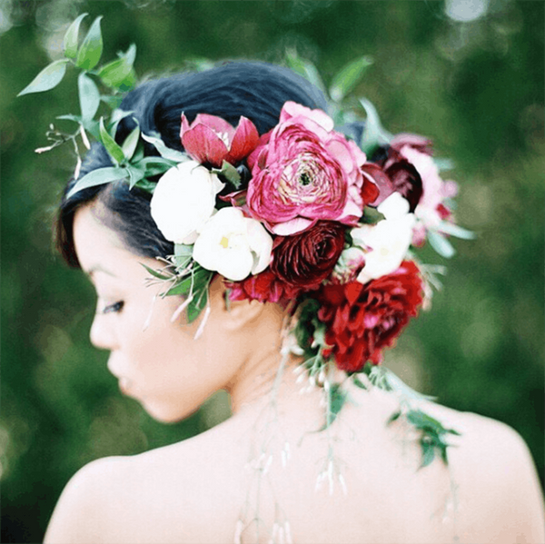 These 23 Instababes Give You All the Wedding Hair + Makeup Inspo You Need