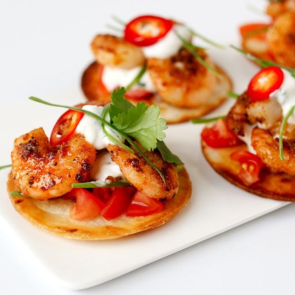 DIY This Mini Tostadas Appetizer Recipe for Your Wedding on a Budget