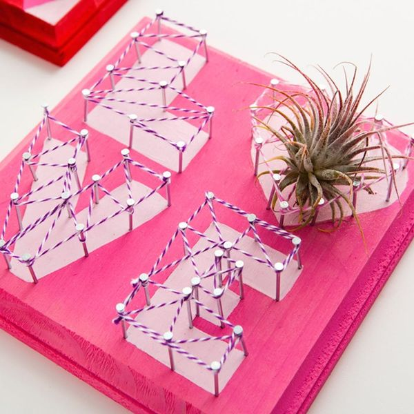 13 Last-Minute Wall Art Ideas to DIY for Valentine's Day