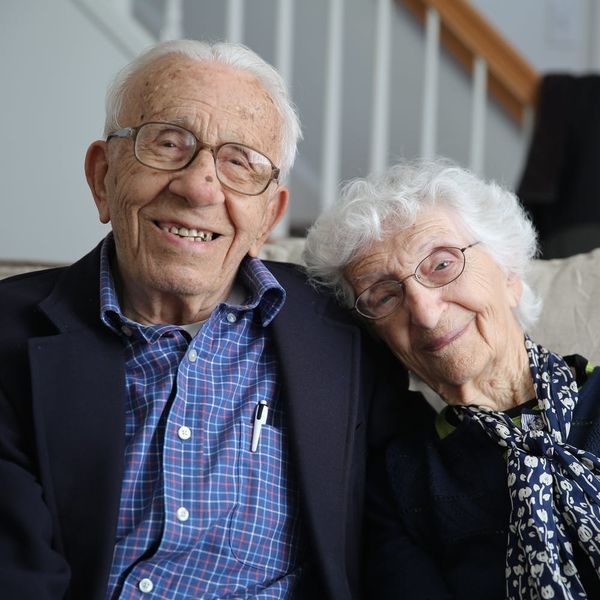 Get Valentine's Day Love Advice from America's Longest-Married Couple