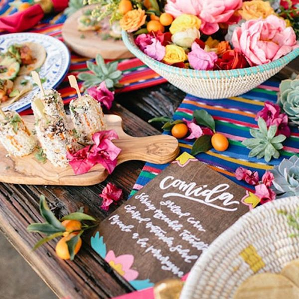 13 Creative Wedding Menu Ideas That Aren't Chalkboards