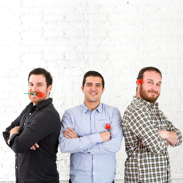 What Happened When 3 Tech Bros of Brit + Co Got a Dating Profile Makeover from Pros