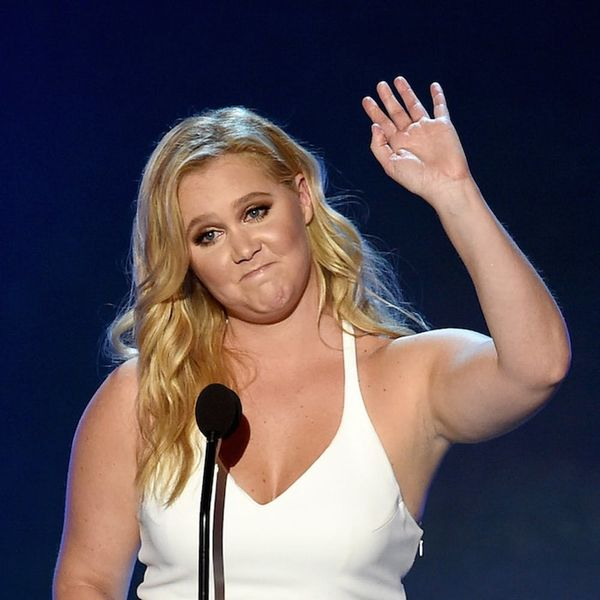 Amy Schumer's Baby Bump Photo Is Predictably Hilarious