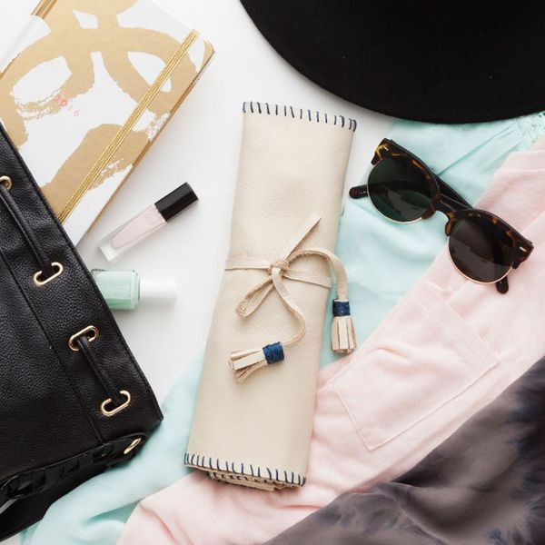 Pack All Your Favorite Pieces in This DIY Travel Jewelry Roll