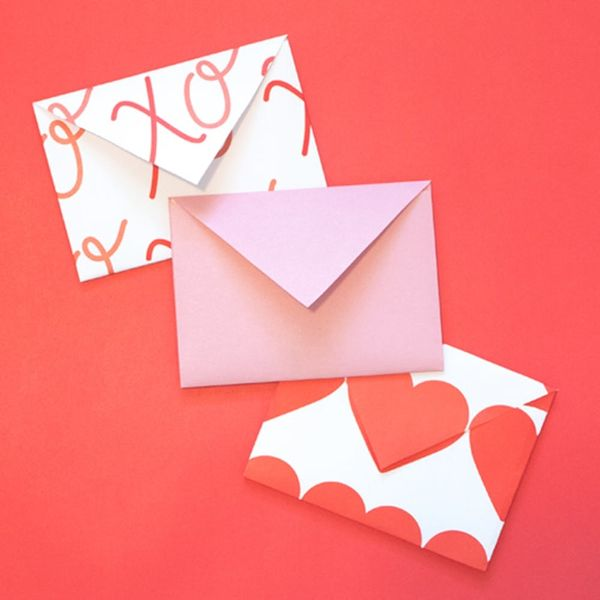 Make These Adorable Envelopes That Start as Hearts!
