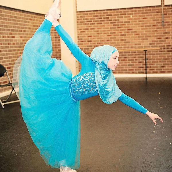 This Hijab-Wearing Ballerina Is About to Change the World
