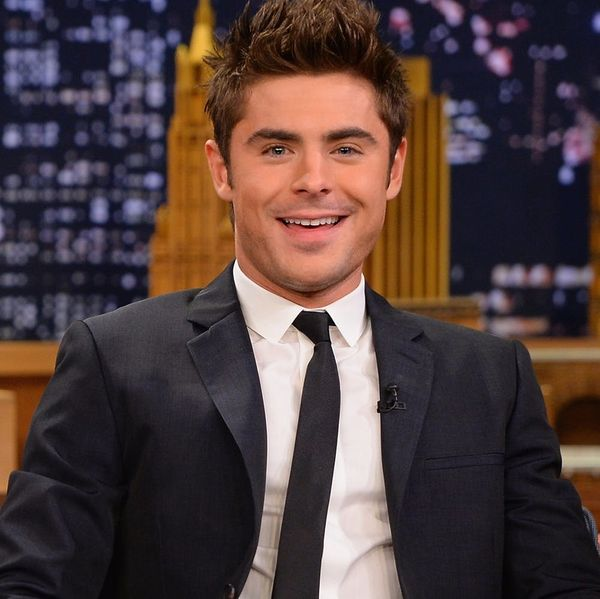 Zac Efron Is Trying to Make Crimped Hair a Thing Again