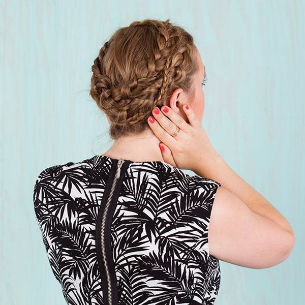 You Won't Believe How Simple It Is to Recreate This Spiral Braid
