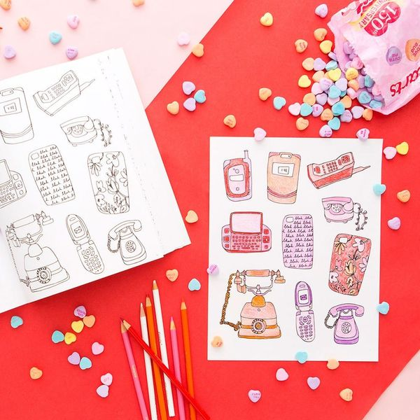 3 Printable Valentine's Day Coloring Book Pages to DL Now