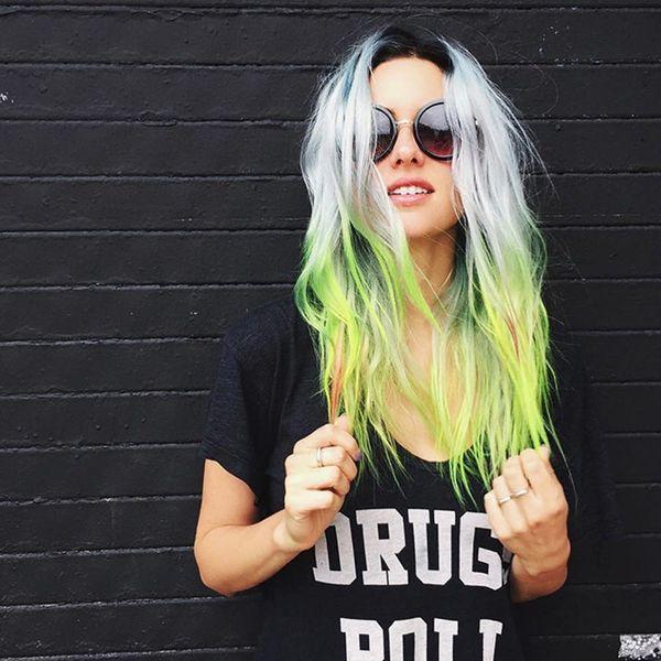 This Blogger Spills How She Keeps Her Unicorn Hair Fresh + Healthy