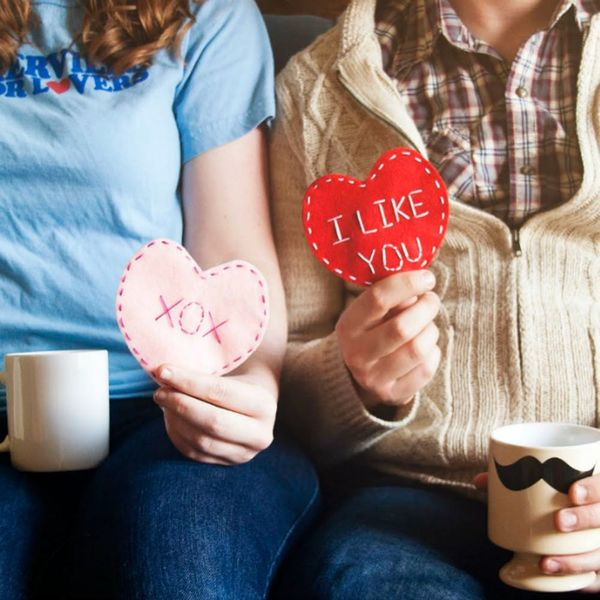 Exchange Valentine's Day Cards, Kid-Style