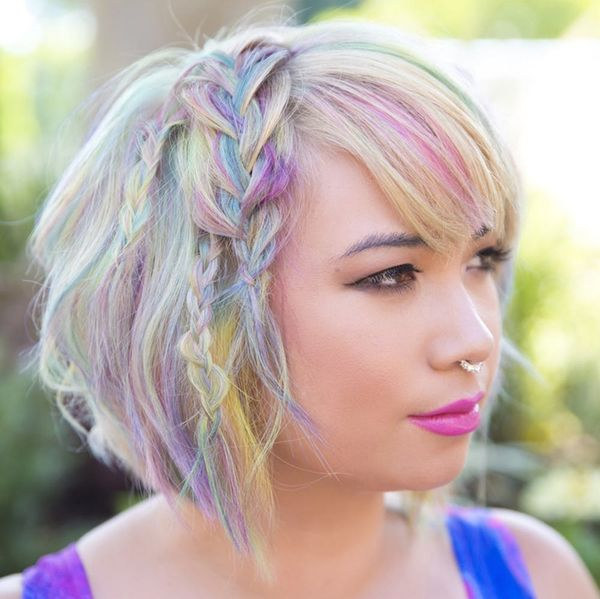 Watercolor Hair Is the Newest Way to Turn Your Hair Into a Work of Art