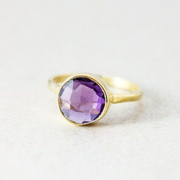 14 Amethyst Engagement Rings That'll Take Your Breath Away
