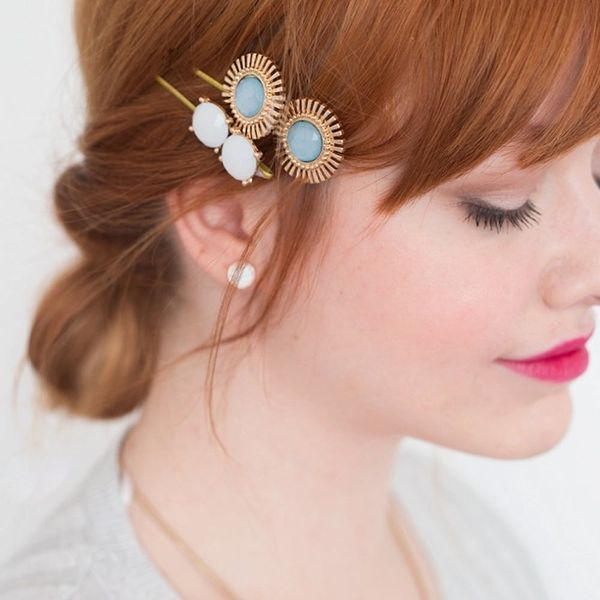 How to Make Gemstone Bobby Pins for the Best DIY Valentine's Day Gift Ever