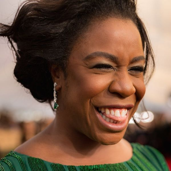 Uzo Aduba Brought Her Prom Date to the SAG Awards
