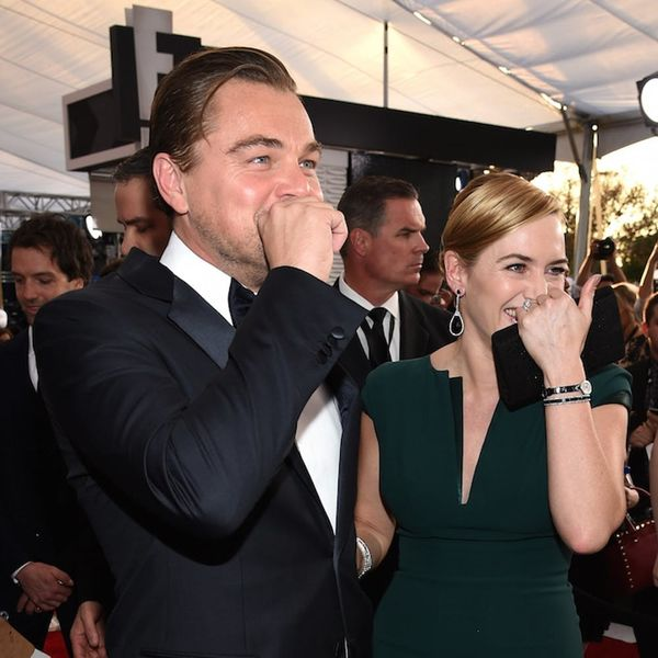 Kate Winslet and Leonardo DiCaprio's SAG Awards Reunion Is the 1997 Time Warp of Our Dreams