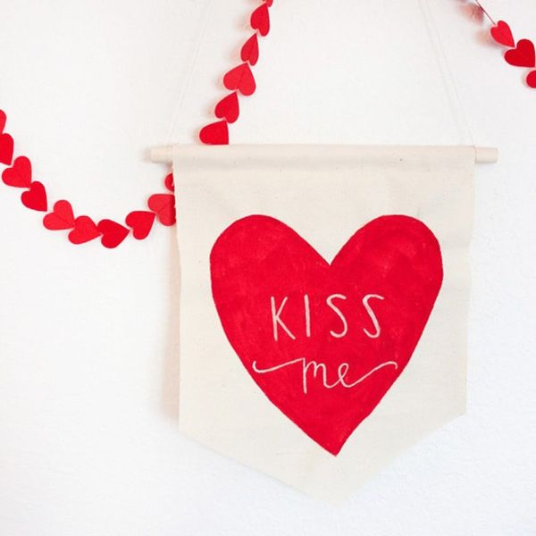 14 Modern DIYs to Decorate Your Space for Valentine's Day