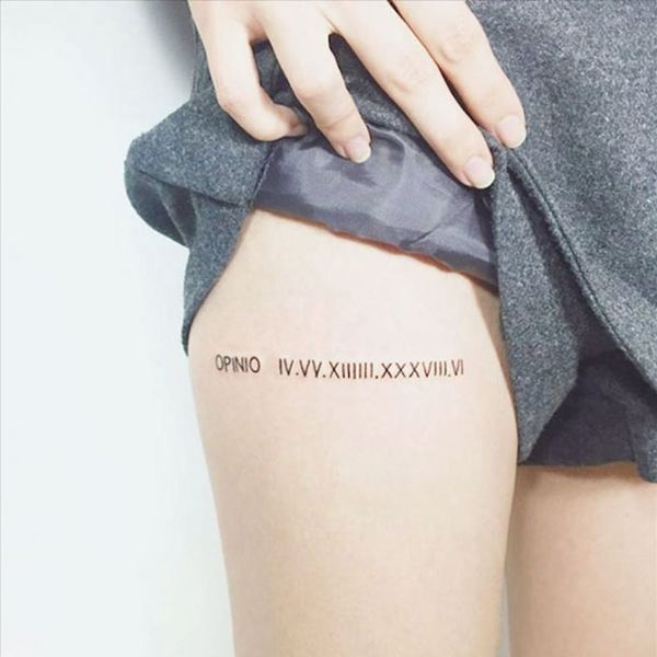 12 Pretty and Meaningful Thigh Tattoos