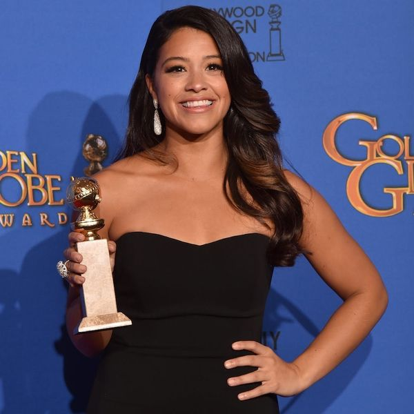 Gina Rodriguez Is Lending Her Golden Globes Dress to Her Fans for Prom
