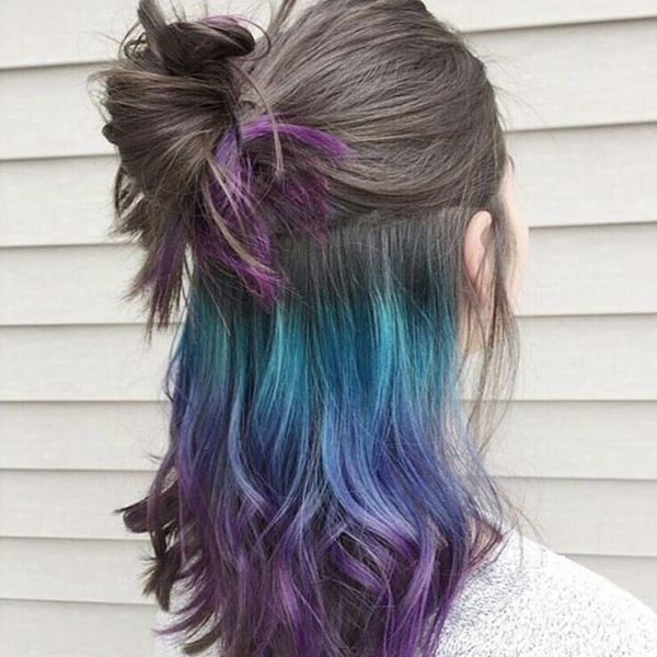 Underlights Are the New Secret Rainbow Hair Trend You Must Try